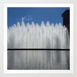 Bloch Fountain not a Block Art Print