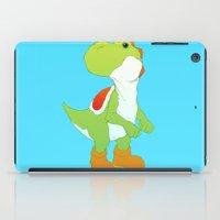 yoshi iPad Cases featuring Yoshi by bloozen