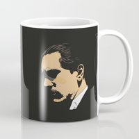 godfather Mugs featuring Vito Corleone - The Godfather Part I by Tomcert