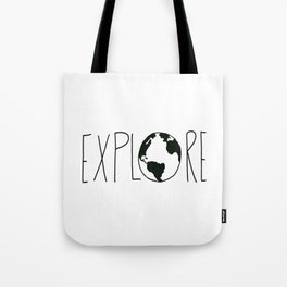 Explore the Globe x BW Tote Bag