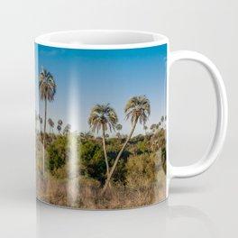 Beautiful landscape of El Palmar National Park in Argentina with yatay palm trees Coffee Mug