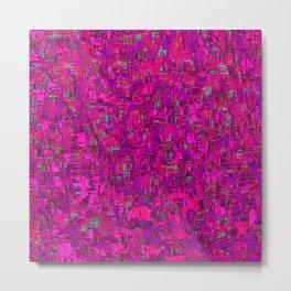 jazz in purple Metal Print