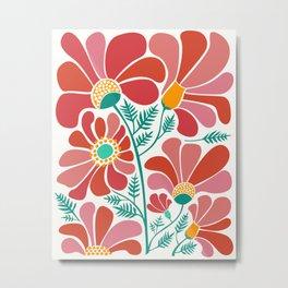 The Happiest Flowers III Metal Print