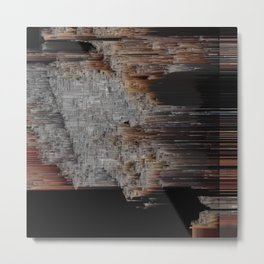 The Structure of Our Mind Metal Print