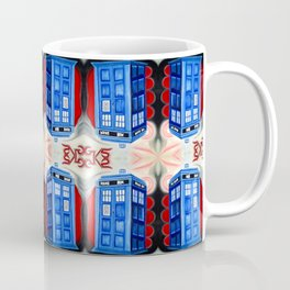 British Blue Police Public Call Box - Nexus 16 Coffee Mug