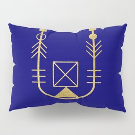 Sacred Geometry Letter U Pillow Sham