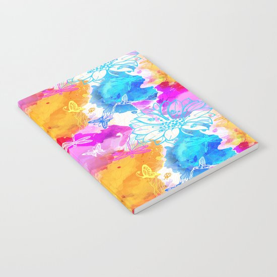 Floral Pattern 11 Notebook