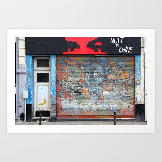 Brussels 2 Art Print