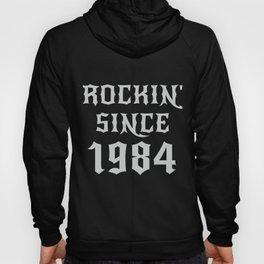 36 Year Old Classic Rock 1984 36th Birthday Gifts Men Women Hoody