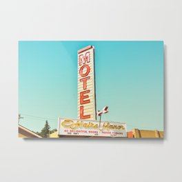 O'Haire Manor Motel Metal Print