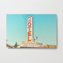 O'Haire Manor Motel Metal Print