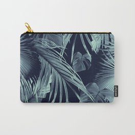 Tropical Jungle Leaves Dream #9 #tropical #decor #art #society6 Carry-All Pouch