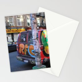 East Village Graffiti Van Stationery Cards