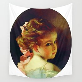 Vintage Updo Hairdo Wall Tapestry