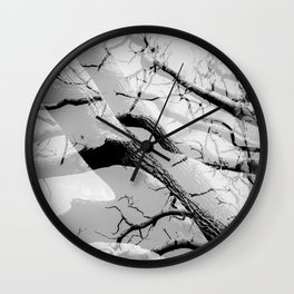 Tree Division in Mono Wall Clock