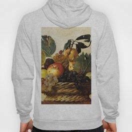 "Michelangelo Merisi da Caravaggio ""Basket of Fruit"" Hoody"
