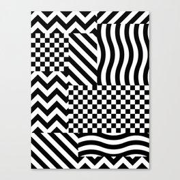 Dazzle 01 Canvas Print
