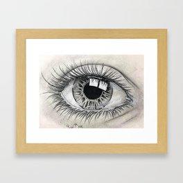 Glossy Sight Framed Art Print