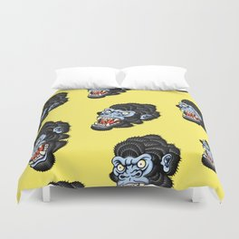 Gorilla Pattern Duvet Cover