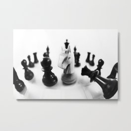 Chess Metal Print
