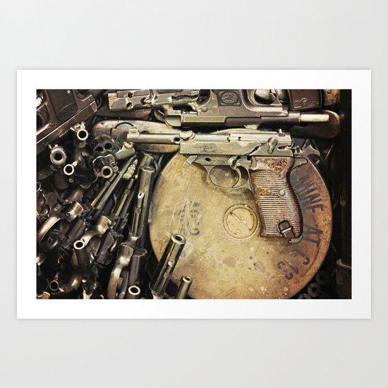 An art of Peacemaking Art Print