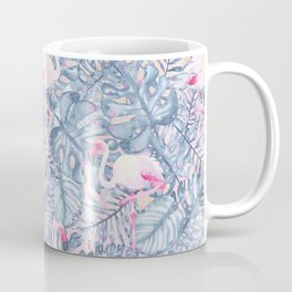 Aloha Flamingo Pattern Coffee Mug