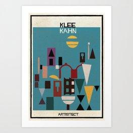 klee+kahn Art Print