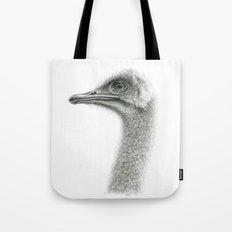 Cute Ostrich Profile SK054 Tote Bag
