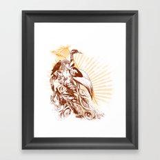 lady bird 2 Framed Art Print