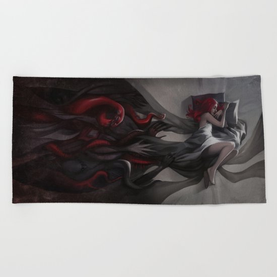 Oneirology Beach Towel
