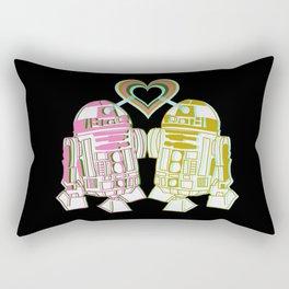 R2D2 DROID LOVE Rectangular Pillow