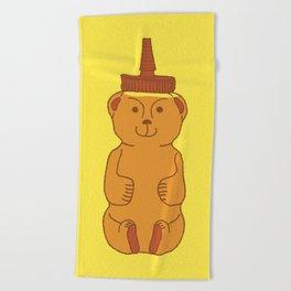 Honey Bear Beach Towel