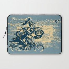 Dirt Track - Motocross Racing Laptop Sleeve