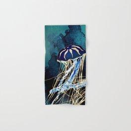 Metallic Jellyfish III Hand & Bath Towel