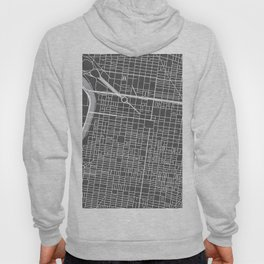 Center City Philadelphia Map Hoody