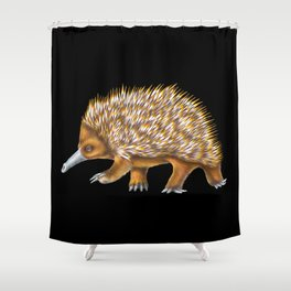 Echidna Shower Curtain