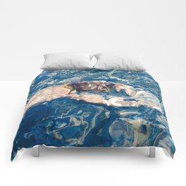 Underwater diffraction Comforters