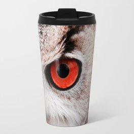 Eyes of owl Travel Mug