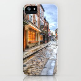 The Shambles Street York iPhone Case