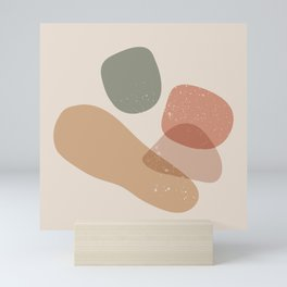 Abstract Geometric Scandinavian Mini Art Print