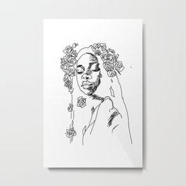 Rosy Metal Print