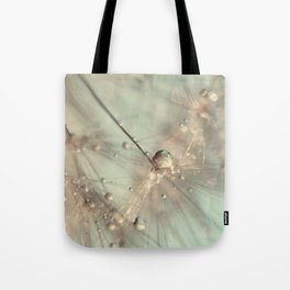 dandelion mint Tote Bag