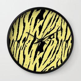 Tiger Limelight Wall Clock