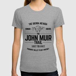 The John Muir Trail JMT for Thru-Hikers T-shirt