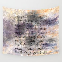 Chopin - Nocturne Wall Tapestry