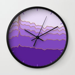 Pinkergraph 07 Wall Clock