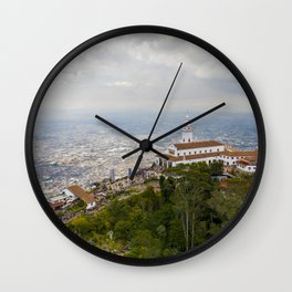 Cerro de Monserrate Wall Clock