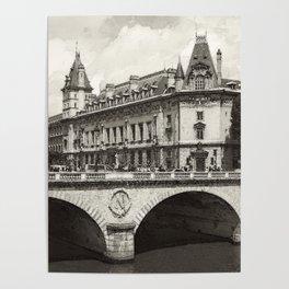 Pont Neuf Paris Poster