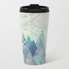 Mountain Crash Metal Travel Mug