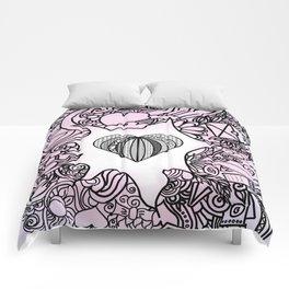 Love вoodle . pink Comforters